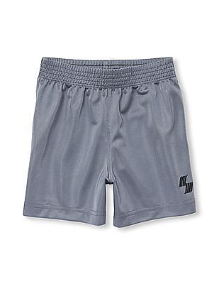 The Children's Place Toddler Boy PLACE Sport Solid Basketball Shorts