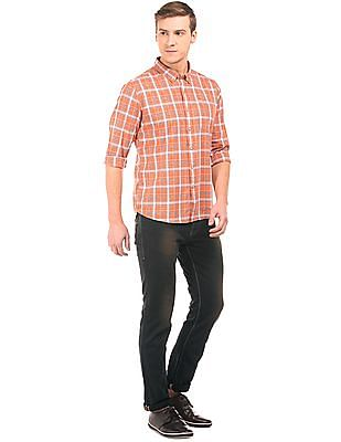 Flying Machine Slim Tapered Fit Brushed Jeans