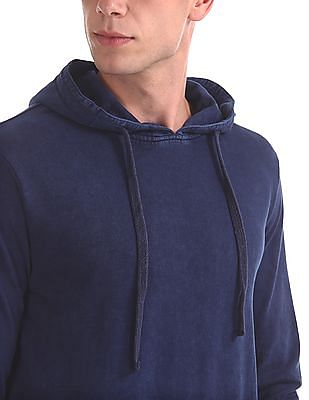 Cherokee Solid Zip Up Sweatshirt