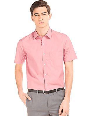 Arrow Solid Cotton Shirt