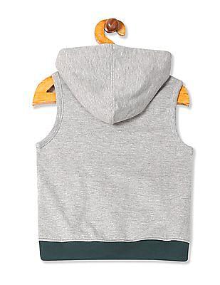 Cherokee Boys Colour Blocked Hooded Sweatshirt