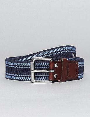 GAP Striped Canvas Belt