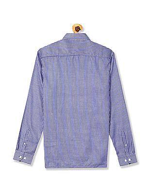Excalibur Long Sleeve Striped Shirt