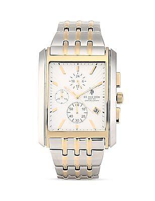 U.S. Polo Assn. Metal Strap Chronograph Watch