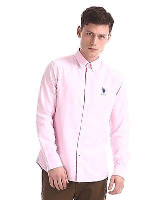 U.S. Polo Assn. Regular Fit Full Sleeve Shirt