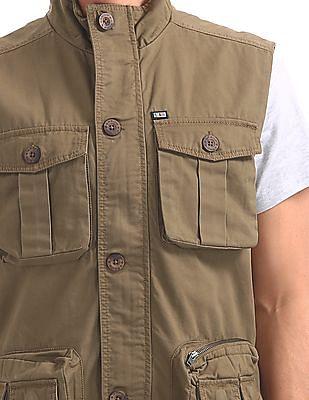 Arrow Sports Sleeveless Field Jacket