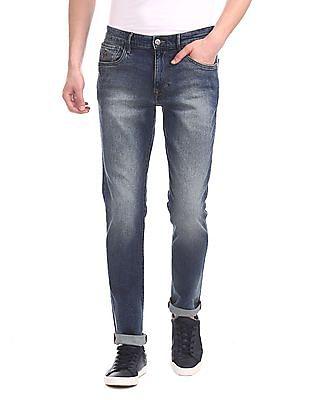 U.S. Polo Assn. Denim Co. Blue Brandon Slim Fit Stone Wash Jeans