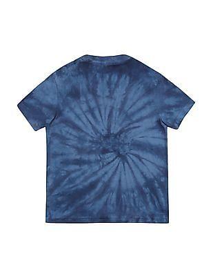 U.S. Polo Assn. Kids Boys Crew Neck Washed T-Shirt