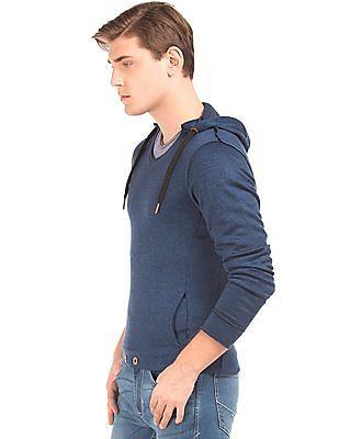 Newport Hooded Heathered Sweatshirt