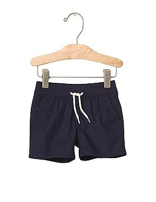 GAP Baby Blue Pull On Poplin Shorts