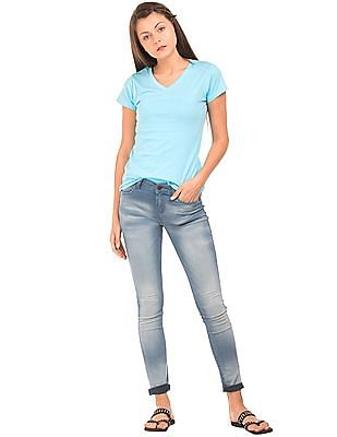 Cherokee Stone Wash Super Skinny Fit Jeans