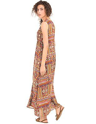 Cherokee Printed Maxi Dress