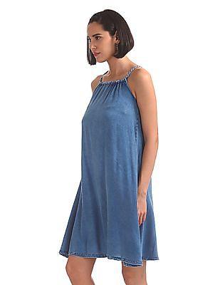 SUGR Strappy A-Line Dress