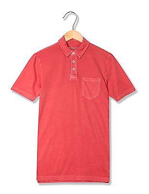 Aeropostale Short Sleeve Cotton Polo Shirt