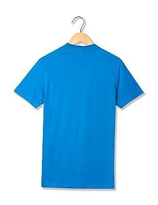 Aeropostale Appliqued Crew Neck T-Shirt