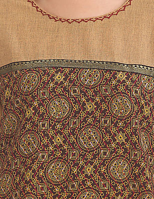 Karigari Printed Cotton Kurta