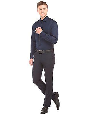 Arvind Slim Fit Tuxedo Shirt