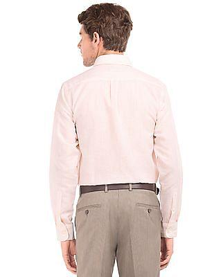 Arrow Pinstriped Regular Fit Shirt