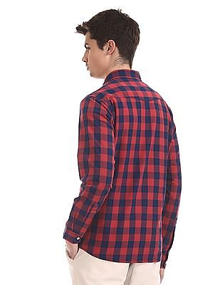 Cherokee Red Patch Pocket Check Shirt