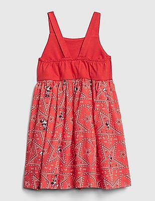GAP Red Toddler Girl Disney Mickey Mouse Dress