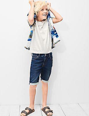 GAP Boys Super Soft Denim Shorts
