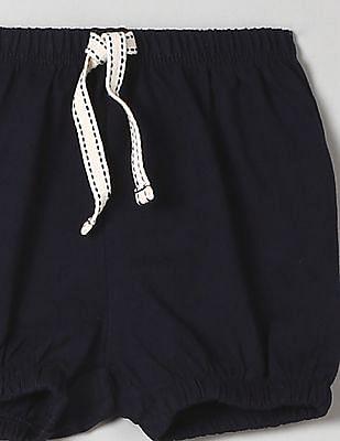 GAP Toddler Girl Blue Jersey Bubble Shorts
