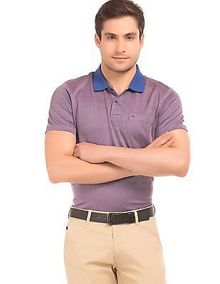 Arrow Two Tone Regular Fit Polo Shirt