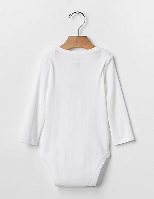 GAP Baby White Mr. Men™ Graphic Bodysuit