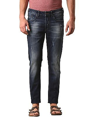 True Blue Stone Wash Slim Fit Jeans