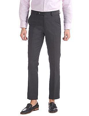 Arrow Tapered Fit Woollen Trousers