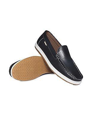 U.S. Polo Assn. Contrast Sole Slip On Shoes