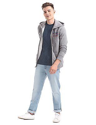 Aeropostale Regular Fit Printed Sweatshirt