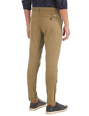 Ed Hardy Slim Fit Twill Trousers