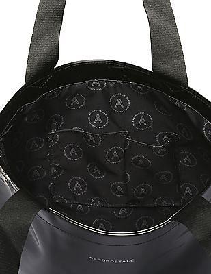 Aeropostale Patent Pleather Tote Bag