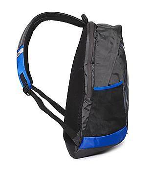 Flying Machine Printed Padded Backpack