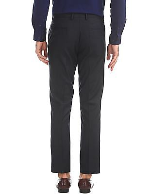 Arrow Newyork Tapered Fit Check Trousers