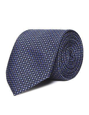 Arrow Jacquard Pattern Tie