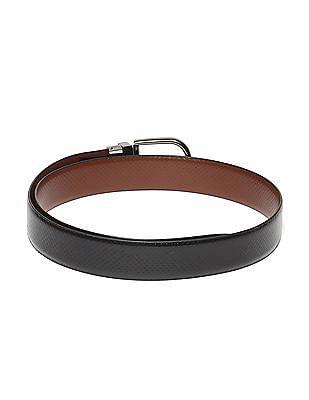 Excalibur Reversible Textured Leather Belt