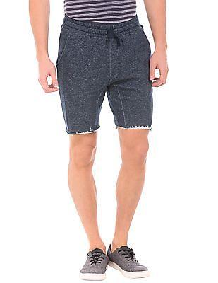 Ed Hardy Regular Fit Heathered Knit Shorts
