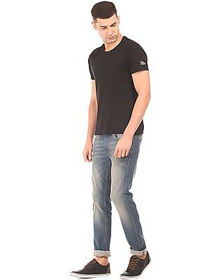 Flying Machine Stone Washed Skinny Fit Jeans