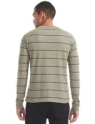 Aeropostale Striped Long Sleeve T-Shirt