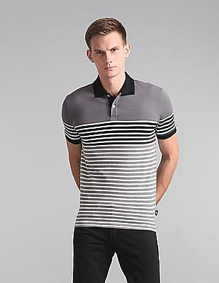 GAP Short Sleeve Stripe Polo