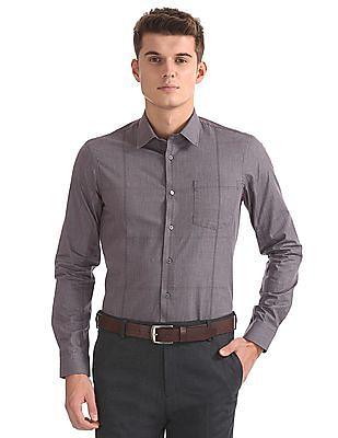 Arrow Newyork Slim Fit Patterned Shirt