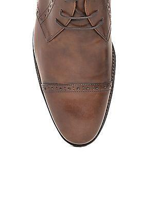 Johnston & Murphy Chukka Style Cap Toe Derby Shoes