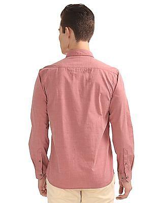 Ruggers Solid Regular Fit Shirt