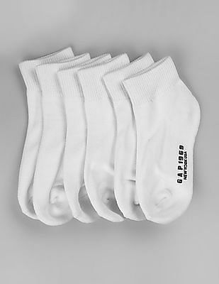 GAP Boys Quarter Socks (6-Pack)