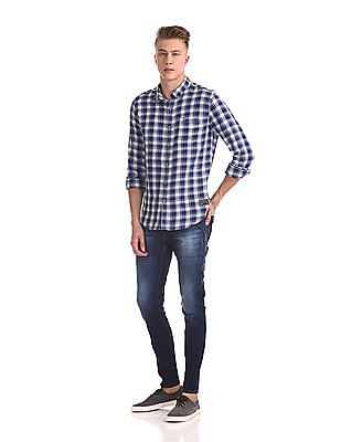 Flying Machine Jackson Skinny Fit Low Waist Jeans