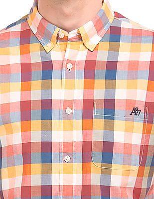 Aeropostale Regular Fit Madras Check Shirt