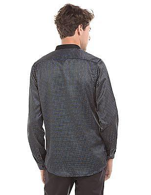 Excalibur Button Down Printed Shirt