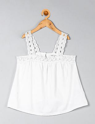 GAP Girls Eyelet Strap Tank